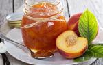 Варенье из спелых нектаринов — быстрый и вкусный десерт