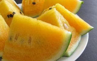 Арбуз с желтой мякотью: особенность внешних и вкусовых характеристик