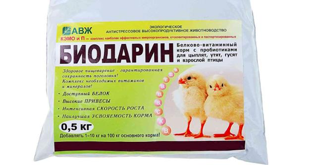 витаминный комплекс для птенцов