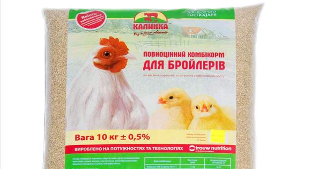комбикорм для разных цыплят