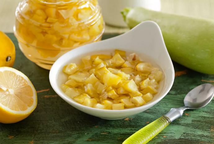 кабачок и лимон